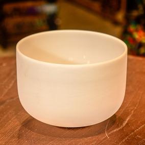 Cuenco De Cristal De Cuarzo De 10 Pulgadas (25,4cm)