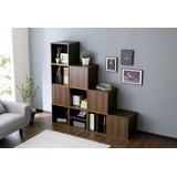 Cubo - Combinable - Biblioteca Japonesa - Green Muebles