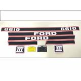 Decalque Faixa Adesiva Trator Ford New Holland 6610