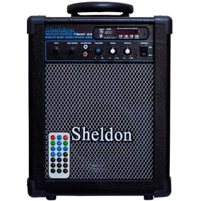 Caixa Multiuso 15w Amplificada Sheldon Bluetooth Usb