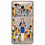 Case Capa Capinha Samsung Galaxy J7 2016 -ciências Sociais F