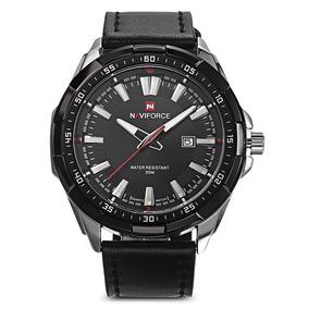 Reloj Naviforce 9056 Negro Para Caballero