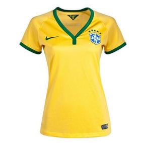 Kit 10 Camiseta Seleção Brasileira Feminina Copa - Atacado!!