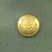 Aia-8004 Botón Militar Con Pie Escudo Dorado T,24 Por 144uni