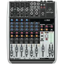 Mixer Mesa De Som Com Interface Behringer Q1204usb