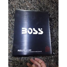 Planta Boss Mono Block Para Bajos 1100 Watts Perfecto Estado