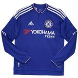 Camisas Do Chelsea Manga Longa - Camisas de Times de Futebol no ... 3693dbafe4018