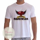 Camiseta Camisa Flamengo Nação Rubro-negra