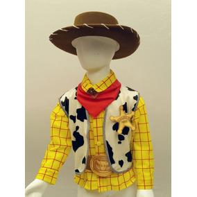 Disfraz Tipo Woody Toy Story Vaquero Con Sombrero Camisa
