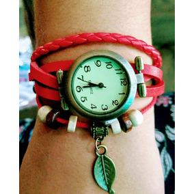 Relógio Feminino, Pulseira Trançada, Pronta Entrega