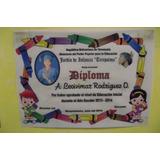Diplomas Elaborados En Pergamino Aleman Para Preescolar