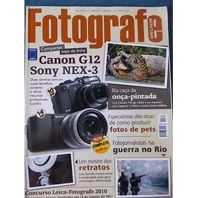 Revista Fotografe Jan/2011 #172 Garrido Onça Pets Gonzalez