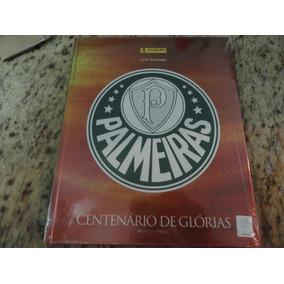 Álbum Palmeiras Centenário Capa Dura + 250 Figurinhas - Novo