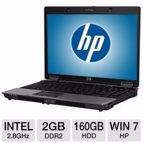Notebook Hp 6530b Intel Core 2 Duo 160gb 2gb Outlet Leer