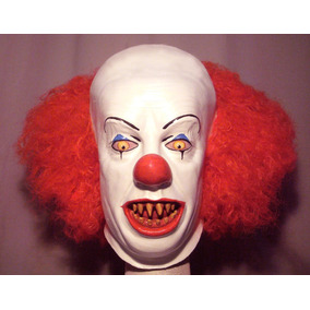 payaso it mascara ltex halloween terror payaso asesino