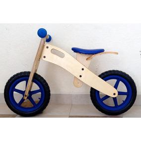 Bicicleta Para Niño Balance Entrenadora Madera Sin Pedales