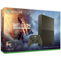 Xbox One S 1tb Slim Battlefield 1 Limited Edition 4k