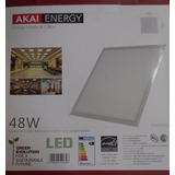 Panel Led 60x60 Para Cieloraso 48w Akai Categoria A!!!