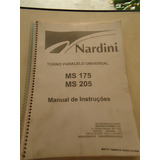 Manual Torno Nardini Mascote Ms 175 Ms 205