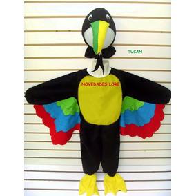 Disfraz Tucan Pajaro Ave Disfraces Primavera Para Niños