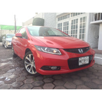 Impecable Civic Si Vestiduras Piel, Gps, Faros Led