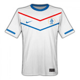 Playera Jersey Nike De Holanda De Visitante Blanco