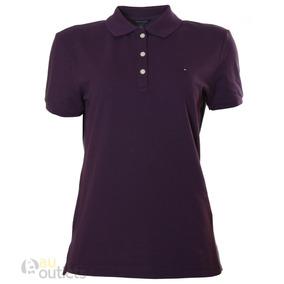 Camisa Polo Feminina Tommy Hilfiger