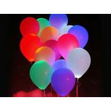 Globos Led De Colores Para Cumpleaños Fiestas Infantiles