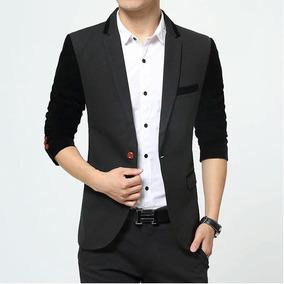 Chaquetas Blazer Suit Jacket De Hombre Elegante Y Casual