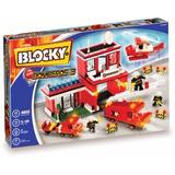 Blocky Bomberos 3 460 Piezas Para Armar Camión Estacion