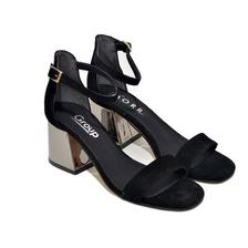 Sandalias De Mujer Zapatos De Fiesta Taco Moda 2020 205gr