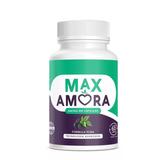 Max Amora 60 Capsulas + Brinde Óleo De Coco