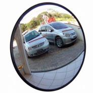 Espelho Convexo De 40cm Com Borda De Borracha Ligação