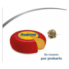 Veneno Para Ratas Y Ratones! Rodilon De Bayer Paquete 5 Pzs.