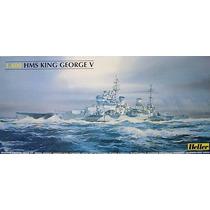Barco King George 1/400 Maquetas Para Armar Heller 81088
