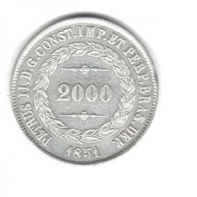 Moeda Petrus Ii D. G. Const. Imp. Et Perp. Bras. Def 2000