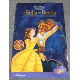 Poster La Bella Y La Bestia - Cine Animacion Disney Dibujos