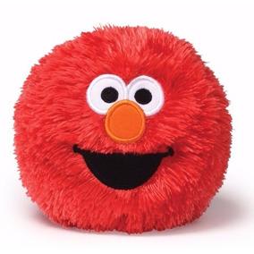 Vila Sésamo Bola De Pelúcia Do Elmo Com Sons! 10cms Da Gund