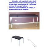 Kit Estetica 9 Maca Exame Suporte Papel Escada Massage Depil