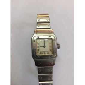 31719b55e21 Relógio Cartier Feminino Santos Galbeé Pulso - Relógios De Pulso no ...