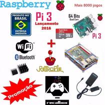 Raspberry Pi 3 Pi3 Com Recalbox