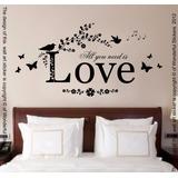 Vinilo Decorativo Para Paredes Dormitorios Cabeceras Love