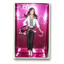 Boneca Barbie Hello Kitty- Colecionador Rara