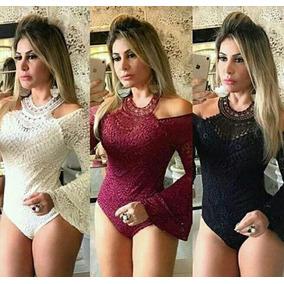 Body Encaje (importado Brasil)