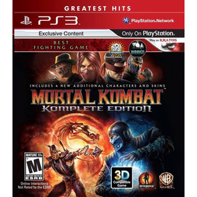 Mortal Kombat 9 Ps3 Komplete Edition - Español - Digital