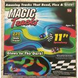 Magic Tracks, 2 Autos Leds Con + Potencia, 220 Piezas Y Msi