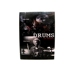 Box Dvd E Cd Drums La Habana Bis Music Original Lacrado