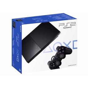 Console Sony Playstation 2 Slim Completo Ps2 Desbloqueado