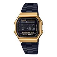 Reloj Casio Vintage A 168wegb 1b Comercio Oficial Autorizado