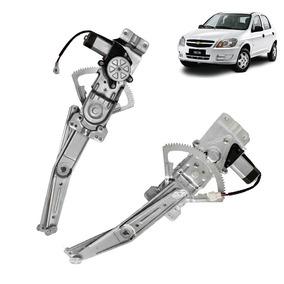 Maquina Vidro Eletrica Celta 4portas Diant Esquerda C/ Motor